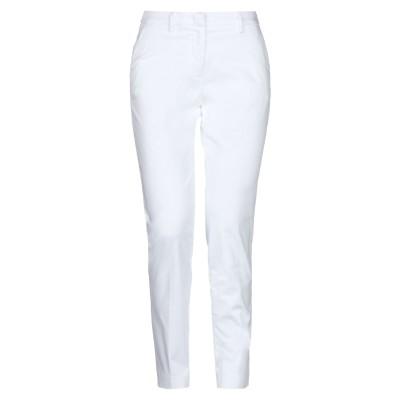 メイソンズ MASON'S パンツ ホワイト 38 コットン 86% / ポリエステル 10% / ポリウレタン 4% パンツ