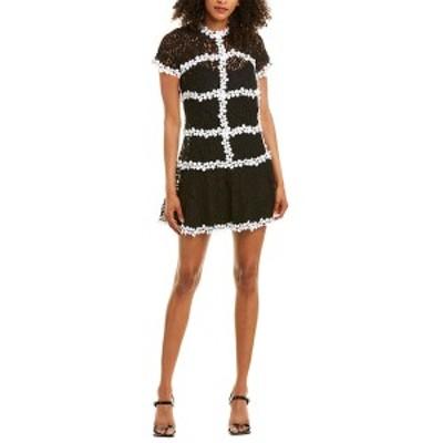 グラシア レディース ワンピース トップス Gracia Lace Sheath Dress black