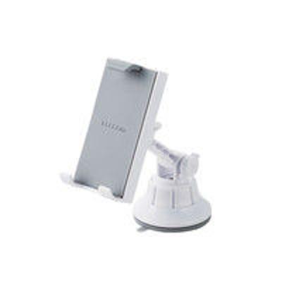 エレコムエレコム 車載アクセサリー/スマホ・タブレット対応スタンド/ゲル吸盤タイプ/ホワイト P-CARTB01WH 1個(直送品)