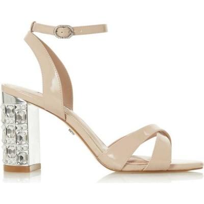 デューン Dune London レディース サンダル・ミュール シューズ・靴 million mid block heel sandals Nude