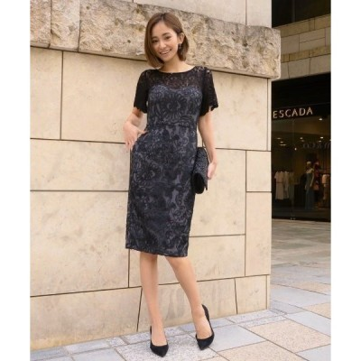 ドレス aurora lace sleeve dress