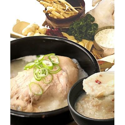 <博多大東園> 福岡サムゲタン丸鶏とお粥セット【三越伊勢丹/公式】