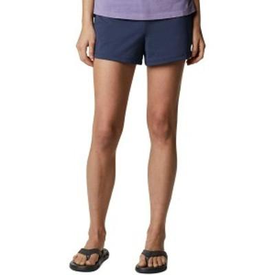 コロンビア レディース ハーフパンツ・ショーツ ボトムス Columbia Women's Sandy Creek Stretch Shorts Nocturnal