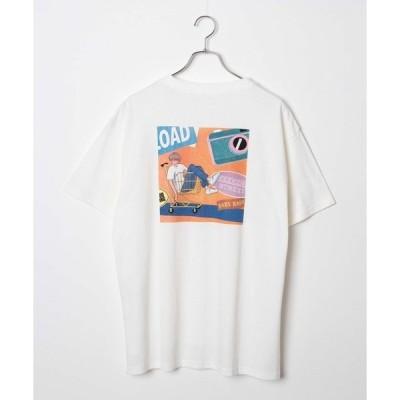 tシャツ Tシャツ WEGO/イラストレータープリントTシャツ