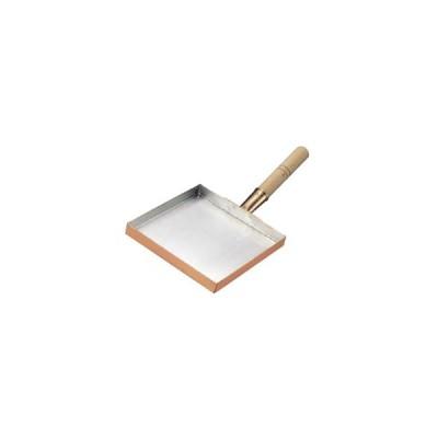 (エッグパン)玉子焼 関東型 薄焼用 銅製 15cm