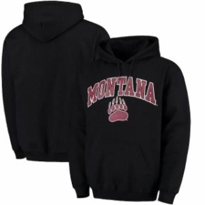 Fanatics Branded ファナティクス ブランド スポーツ用品  Fanatics Branded Montana Grizzlies Black Campus Pullover