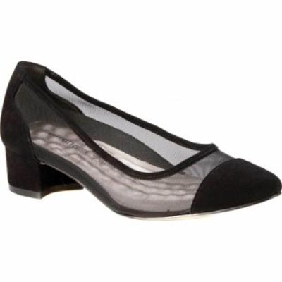ウォーキング クレードル Walking Cradles レディース パンプス シューズ・靴 Hepburn Mesh Pump Black Mesh/Suede