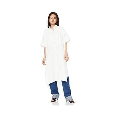 アングリッド シャツ サイドスリットロングシャツ レディース 111930417201 オフホワイト 日本 F (FREE サイズ)