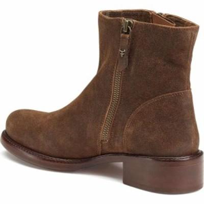 トラスク TRASK レディース ブーツ シューズ・靴 Brylee Moto Boot Brown Leather