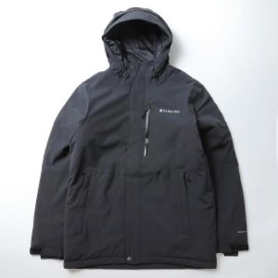 【セール】 【送料無料】 コロンビア ウインター メンズボードウェア ウィンターディストリクトジャケット WE0974-010 メンズ BLACK