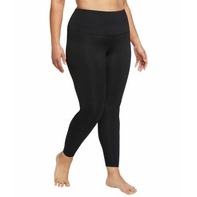 ナイキ カジュアルパンツ ボトムス レディース The Nike Yoga 7/8 Tights Black/Dark Smoke Grey