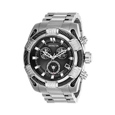Invicta Men's Bolt Quartz Stainless-Steel Strap, Silver, 26 Casual Watch (Model: 26989) 並行輸入品