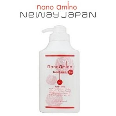 ニューウェイジャパン ナノアミノ [ローズシャボンの香りシリーズ] トリートメントRM-RO [1000gポンプ]