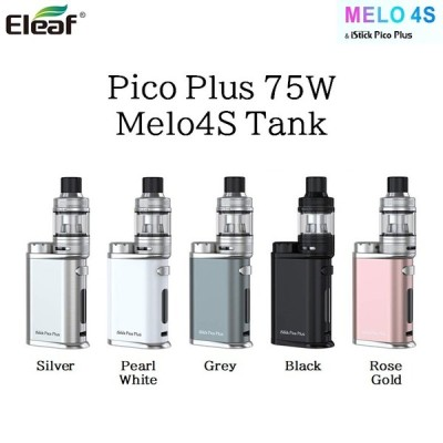 Eleaf iStick Pico Plus 75W Melo4S Tank スターターキット 電子タバコ VAPE