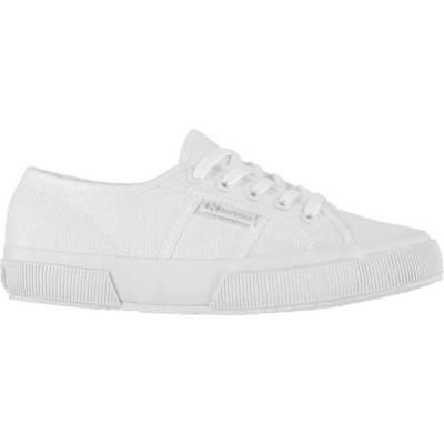 スペルガ Superga メンズ スニーカー シューズ・靴 2750 Cotu Trainers Total White