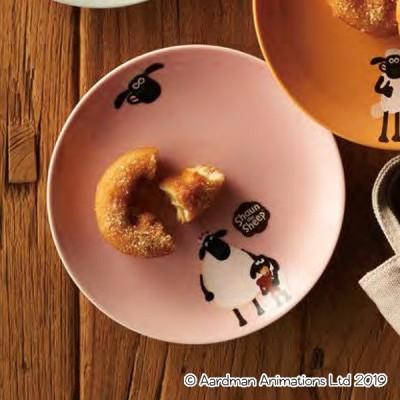 プレート 17cm ティミー&マミー ひつじのショーン 洋食器 磁器 日本製 美濃焼 ( 電子レンジ対応 食洗機対応 お皿 中皿 キャラクター )