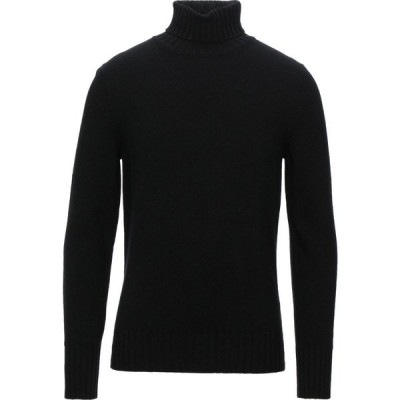 ドッピア アー DOPPIAA メンズ ニット・セーター トップス turtleneck Black