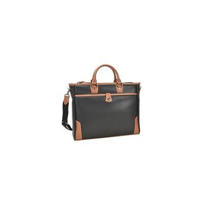 平野鞄  2WAY ビジネス バッグ  B4ファイル対応 【 ブラック 】  ウレタン内装ポケット KBN 26637