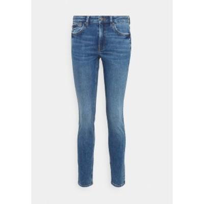 イー ディ シー バイ エスプリ レディース デニムパンツ ボトムス Slim fit jeans - blue medium wash blue medium wash