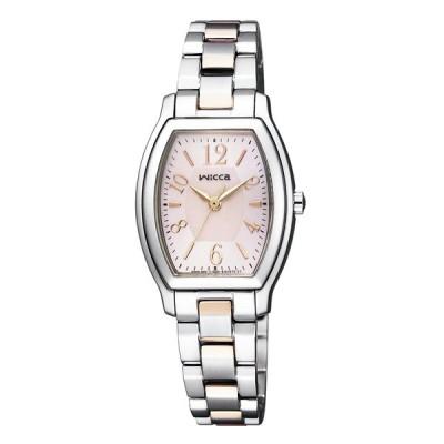 ウィッカ WICCA 腕時計 トノーステンレスベルトソーラーLウォッチ KH8-730-93 ギフトラッピング無料
