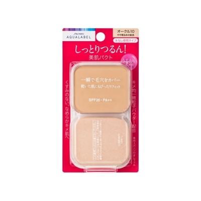 資生堂(SHISEIDO) アクアレーベル 保湿・肌あれケア モイストパウダリー オークル10 (レフィル) やや明るめの肌色 (11.5g)