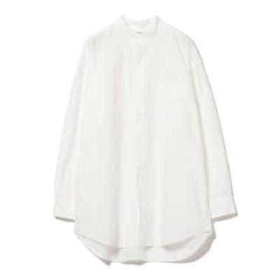 <WOMEN>orSlow / スタンドカラー ルーズシャツ