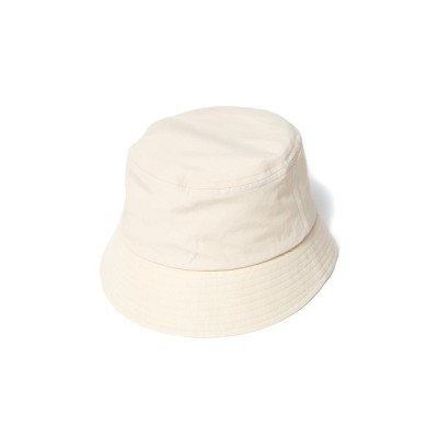 And A / UNDECORATED アンデコレイテッド / RE:NY/ORGANIC CO HAT リサイクルナイロン オーガニックコットン バケットハット / UDS22903 MEN 帽子 > ハット