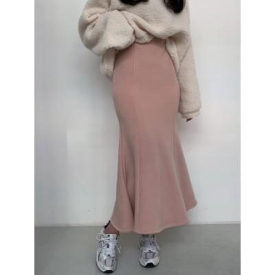 [クローシュw]/🌙マーメイド・ロングスカート(4カラー)🌙/ フリーサイズ44~66/マーメイドスカート/ロングスカート/スパン マーメイドスカート/ 韓国発送 / 送料無料