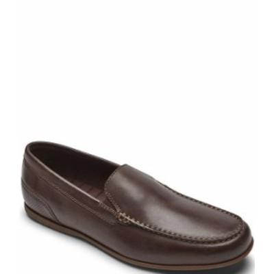 ロックポート メンズ スリッポン・ローファー シューズ Men's Malcom Leather Venetian Slip Ons Java