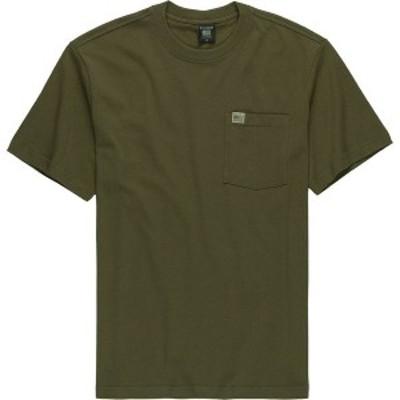 フィルソン メンズ Tシャツ トップス Pioneer Solid One Pocket Fast Track T-Shirt Dark Olive