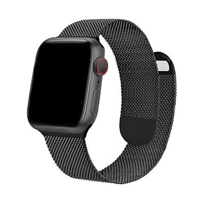 ONELANKS 磁気時計バンド Apple Watch 38mm 40mm 両面磁気メッシュステンレススチールストラップ iWatch Series