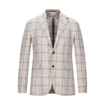 タリアトーレ TAGLIATORE テーラードジャケット ベージュ 48 シルク 56% / バージンウール 44% テーラードジャケット
