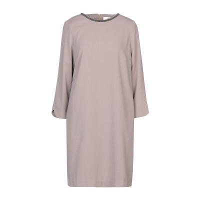 CA' VAGAN ミニワンピース&ドレス カーキ S ポリエステル 100% ミニワンピース&ドレス