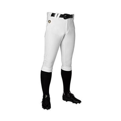 DESCENTE(デサント) 野球 ユニフォーム ショートフィットパンツ ユニフィットパンツ Sホワイト XOサイズ DB1014P