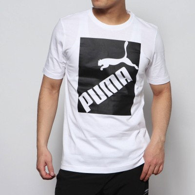 プーマ PUMA メンズ 半袖Tシャツ BIG LOGO Tシャツ 581386