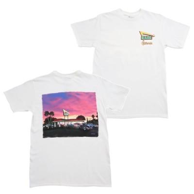 インアンドアウトバーガー In-N-Out Burger 2020 CALIFORNIA SUNSET Tシャツ WHITE ホワイト S/S T-SHIRTS