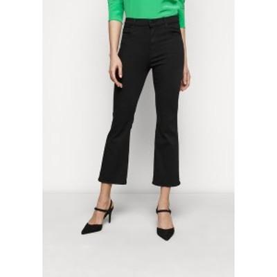 ジェイブランド レディース デニムパンツ ボトムス FRANKY HIGH RISE CROP - Bootcut jeans - seriously black seriously black