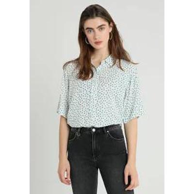 Neuw レディースシャツ Neuw DREW BOXY - Button-down blouse - white white