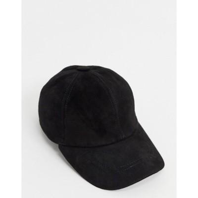 ボロンガロトレバー メンズ 帽子 アクセサリー Bolongaro Trevor embroidered suede cap
