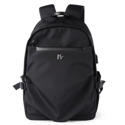MOYYI有名なブランド15.6インチのラップトップバッグ多機能盗難防止アップグレード学校バックパック男 0270 MY Logo