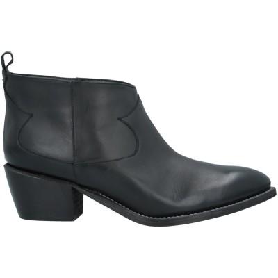 ÂME ショートブーツ ブラック 35 革 ショートブーツ