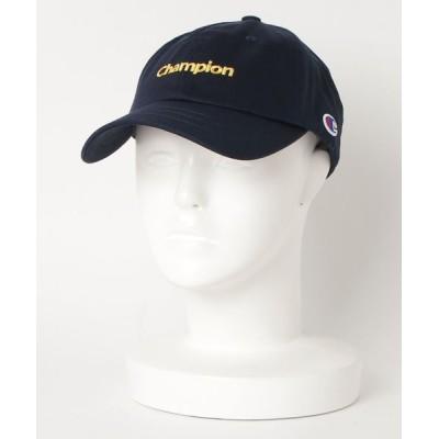 帽子 キャップ CHAMPION チャンピオン ツイル ローキャップ 381-0049