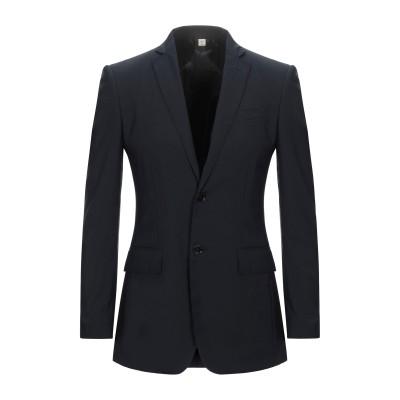 BURBERRY テーラードジャケット ダークブルー 48 バージンウール 100% テーラードジャケット
