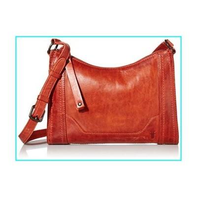 Frye Melissa Zip Leather Crossbody, Burnt Orange