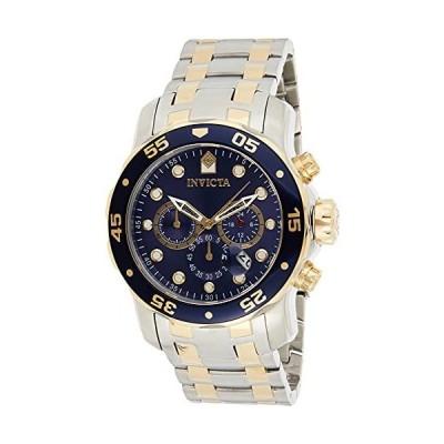 インビクタ 腕時計 プロダイバー48mmステンレススチールブルーダイヤルVD53クォーツ 0077 メンズ 正規輸入品 ゴールド 並行輸入