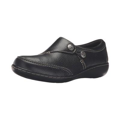 クラーク レディース Ashland Lane Q スリップ-on Loafer, ブラック, 7 M US(海外取寄せ品)
