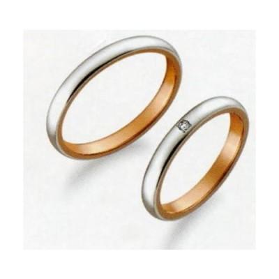 (35) M376 & (36) M376D ダイヤ True Love トゥルーラブ パイロット 特別割引価格  Pt-900 プラチナ & K18PG   マリッジリング 結婚指輪 ペアリング