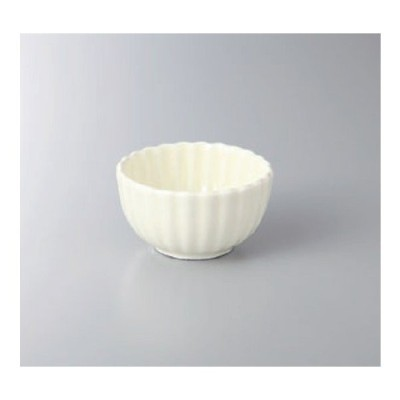 鉢 小鉢 クリーム菊型2.8小付