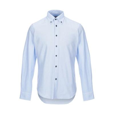 WEST COAST シャツ スカイブルー 40 コットン 100% シャツ