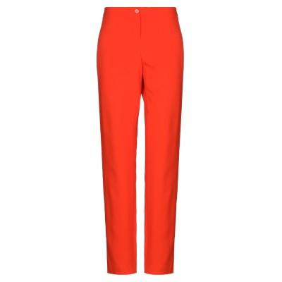 ピアヌラストゥーディ�� PIANURASTUDIO パンツ オレンジ 48 レーヨン 95% / ポリウレタン 5% パンツ
